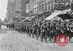 Image of French troops march in Liberty Loan Rally Detroit Michigan USA, 1918, second 4 stock footage video 65675025643