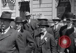 Image of Former President Theodore Roosevelt Detroit Michigan USA, 1918, second 6 stock footage video 65675025644