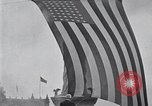 Image of Statue of Liberty replica Detroit Michigan USA, 1918, second 9 stock footage video 65675025645
