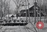 Image of heavy snow blizzard United States USA, 1919, second 5 stock footage video 65675025649