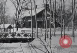 Image of heavy snow blizzard United States USA, 1919, second 8 stock footage video 65675025649