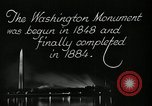 Image of buildings Washington DC USA, 1929, second 4 stock footage video 65675025675
