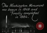 Image of buildings Washington DC USA, 1929, second 6 stock footage video 65675025675