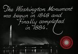 Image of buildings Washington DC USA, 1929, second 7 stock footage video 65675025675