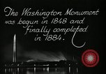 Image of buildings Washington DC USA, 1929, second 9 stock footage video 65675025675