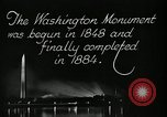 Image of buildings Washington DC USA, 1929, second 10 stock footage video 65675025675