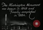 Image of buildings Washington DC USA, 1929, second 11 stock footage video 65675025675