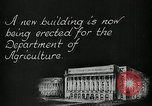 Image of construction and parade Washington DC USA, 1929, second 2 stock footage video 65675025682