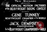 Image of Tunney-Dempsey fight Chicago Illinois USA, 1927, second 2 stock footage video 65675025700