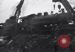 Image of Two night trains collide Dearing Georgia USA, 1935, second 10 stock footage video 65675025713