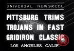 Image of USC versus Pittsburgh football Los Angeles California USA, 1935, second 1 stock footage video 65675025718
