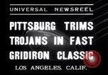 Image of USC versus Pittsburgh football Los Angeles California USA, 1935, second 3 stock footage video 65675025718