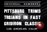 Image of USC versus Pittsburgh football Los Angeles California USA, 1935, second 5 stock footage video 65675025718