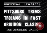 Image of USC versus Pittsburgh football Los Angeles California USA, 1935, second 7 stock footage video 65675025718