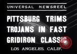 Image of USC versus Pittsburgh football Los Angeles California USA, 1935, second 8 stock footage video 65675025718
