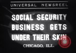 Image of Tattooing expert Chicago Illinois USA, 1937, second 1 stock footage video 65675025727