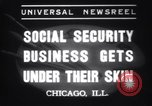 Image of Tattooing expert Chicago Illinois USA, 1937, second 2 stock footage video 65675025727