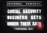 Image of Tattooing expert Chicago Illinois USA, 1937, second 6 stock footage video 65675025727