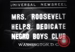 Image of Eleanor Roosevelt Washington DC USA, 1937, second 1 stock footage video 65675025735