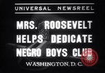 Image of Eleanor Roosevelt Washington DC USA, 1937, second 6 stock footage video 65675025735