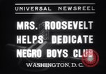 Image of Eleanor Roosevelt Washington DC USA, 1937, second 9 stock footage video 65675025735