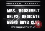 Image of Eleanor Roosevelt Washington DC USA, 1937, second 10 stock footage video 65675025735