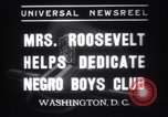 Image of Eleanor Roosevelt Washington DC USA, 1937, second 11 stock footage video 65675025735