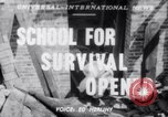 Image of Civil Defense Rescue Service School New York United States USA, 1951, second 1 stock footage video 65675025741