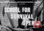 Image of Civil Defense Rescue Service School New York United States USA, 1951, second 2 stock footage video 65675025741