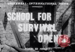 Image of Civil Defense Rescue Service School New York United States USA, 1951, second 3 stock footage video 65675025741