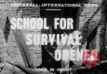 Image of Civil Defense Rescue Service School New York United States USA, 1951, second 4 stock footage video 65675025741