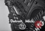 Image of World Premiere of Movie Detroit Michigan USA, 1951, second 2 stock footage video 65675025744