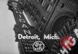 Image of World Premiere of Movie Detroit Michigan USA, 1951, second 3 stock footage video 65675025744