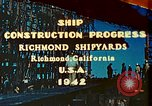 Image of Construction of Liberty ships  in World War 2 California United States USA, 1942, second 1 stock footage video 65675025784