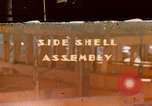 Image of Fabrication of steel side shells for Liberty ship in World War 2 California United States USA, 1942, second 1 stock footage video 65675025788