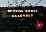 Image of Assembly of bottom shells for Liberty ship during World War 2 California United States USA, 1942, second 1 stock footage video 65675025792