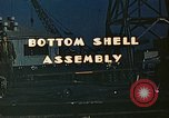 Image of Assembly of bottom shells for Liberty ship during World War 2 California United States USA, 1942, second 2 stock footage video 65675025792