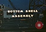 Image of Assembly of bottom shells for Liberty ship during World War 2 California United States USA, 1942, second 3 stock footage video 65675025792