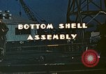 Image of Assembly of bottom shells for Liberty ship during World War 2 California United States USA, 1942, second 4 stock footage video 65675025792