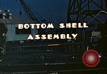 Image of Assembly of bottom shells for Liberty ship during World War 2 California United States USA, 1942, second 5 stock footage video 65675025792