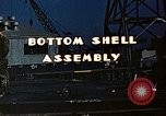 Image of Assembly of bottom shells for Liberty ship during World War 2 California United States USA, 1942, second 7 stock footage video 65675025792