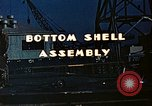 Image of Assembly of bottom shells for Liberty ship during World War 2 California United States USA, 1942, second 8 stock footage video 65675025792