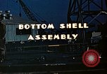 Image of Assembly of bottom shells for Liberty ship during World War 2 California United States USA, 1942, second 9 stock footage video 65675025792