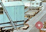 Image of Assembly of bottom shells for Liberty ship during World War 2 California United States USA, 1942, second 10 stock footage video 65675025792