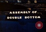 Image of Assembly of double bottom for a Liberty ship during World War 2 California United States USA, 1942, second 2 stock footage video 65675025794