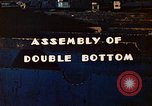 Image of Assembly of double bottom for a Liberty ship during World War 2 California United States USA, 1942, second 3 stock footage video 65675025794