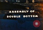 Image of Assembly of double bottom for a Liberty ship during World War 2 California United States USA, 1942, second 5 stock footage video 65675025794