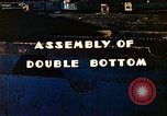 Image of Assembly of double bottom for a Liberty ship during World War 2 California United States USA, 1942, second 6 stock footage video 65675025794