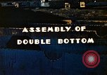Image of Assembly of double bottom for a Liberty ship during World War 2 California United States USA, 1942, second 7 stock footage video 65675025794