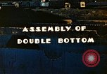 Image of Assembly of double bottom for a Liberty ship during World War 2 California United States USA, 1942, second 8 stock footage video 65675025794